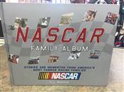 NASCAR Non-Fiction Book THE FAMILY ALBUM